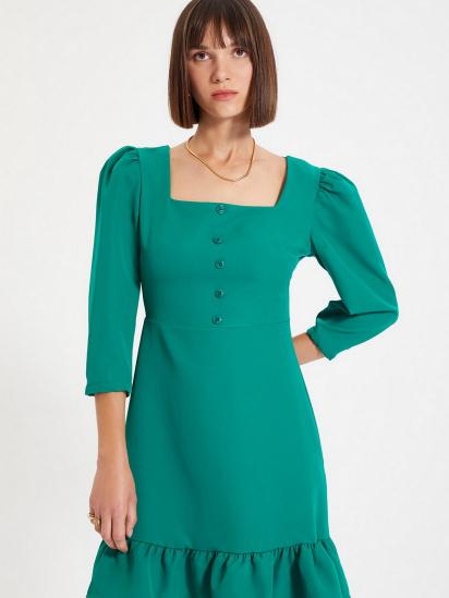 Сукня Trendyol модель TWOAW22EL0049/Yesil — фото 3 - INTERTOP