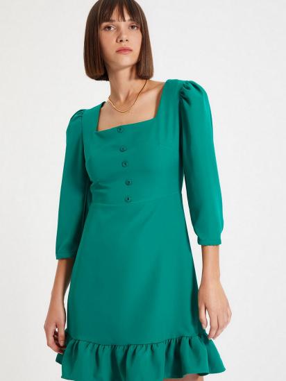 Сукня Trendyol модель TWOAW22EL0049/Yesil — фото 4 - INTERTOP