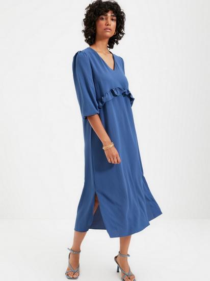 Сукня Trendyol модель TWOAW22EL0063/Indigo — фото 3 - INTERTOP