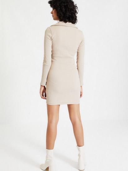 Сукня Trendyol модель TWOAW22EL0077/Camel — фото 2 - INTERTOP