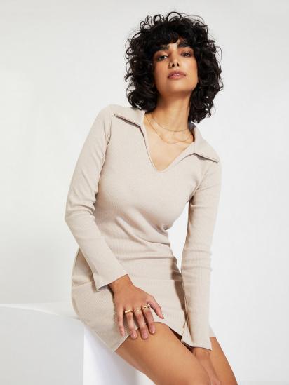 Сукня Trendyol модель TWOAW22EL0077/Camel — фото - INTERTOP