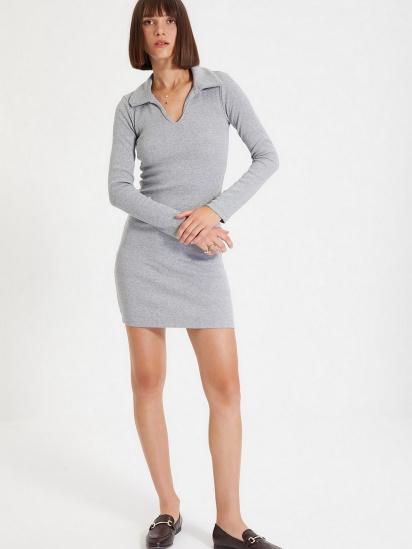 Сукня Trendyol модель TWOAW22EL0077/Gri — фото 2 - INTERTOP