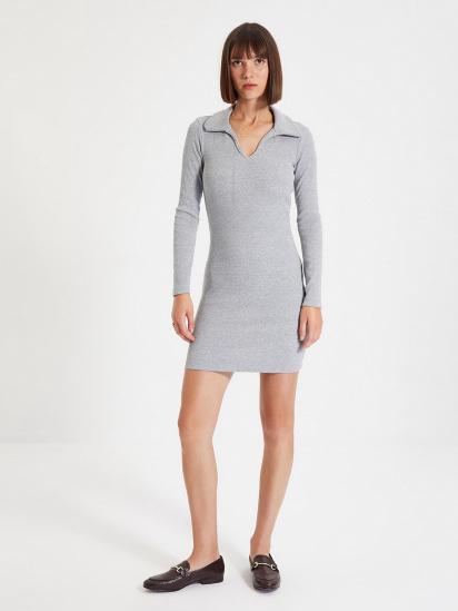 Сукня Trendyol модель TWOAW22EL0077/Gri — фото - INTERTOP