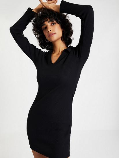 Сукня Trendyol модель TWOAW22EL0077/Siyah — фото 4 - INTERTOP