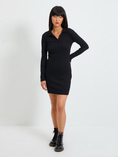 Сукня Trendyol модель TWOAW22EL0078/Siyah — фото 4 - INTERTOP