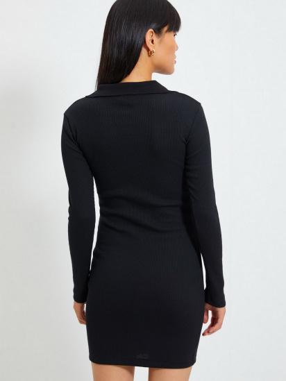 Сукня Trendyol модель TWOAW22EL0078/Siyah — фото 6 - INTERTOP