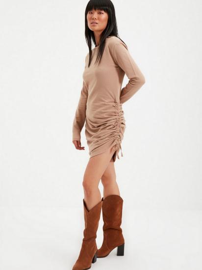 Сукня Trendyol модель TWOAW22EL0084/Vizon — фото 3 - INTERTOP