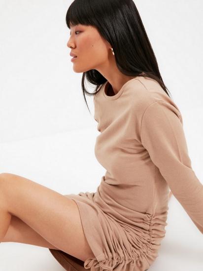 Сукня Trendyol модель TWOAW22EL0084/Vizon — фото 4 - INTERTOP