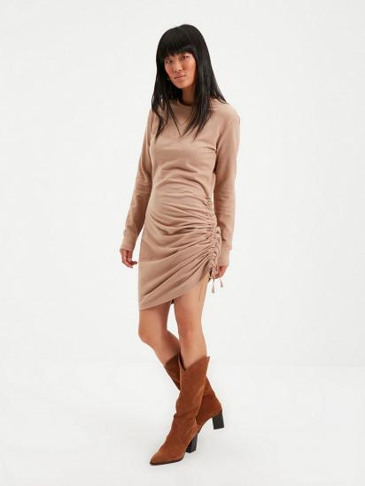 Сукня Trendyol модель TWOAW22EL0084/Vizon — фото - INTERTOP