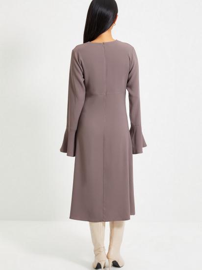 Сукня Trendyol модель TWOAW22EL0123/Antrasit — фото 2 - INTERTOP