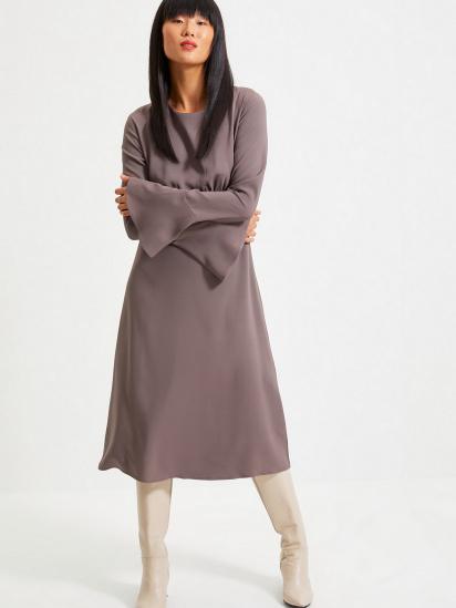 Сукня Trendyol модель TWOAW22EL0123/Antrasit — фото 3 - INTERTOP