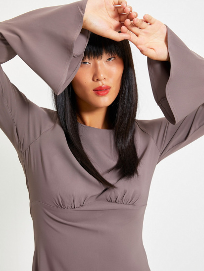 Сукня Trendyol модель TWOAW22EL0123/Antrasit — фото 4 - INTERTOP