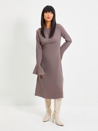 Сукня Trendyol модель TWOAW22EL0123/Antrasit — фото - INTERTOP