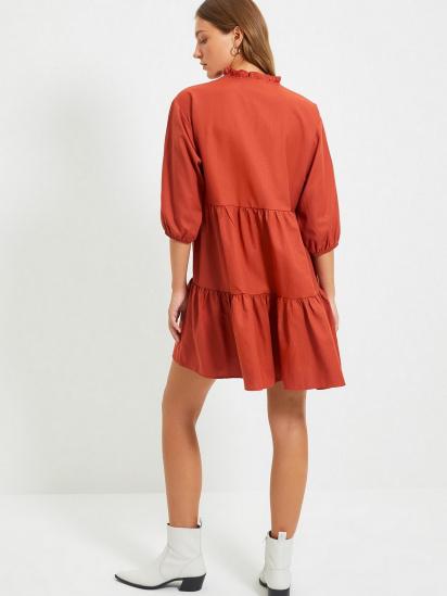 Сукня Trendyol модель TWOAW22EL0131/Kiremit — фото 2 - INTERTOP
