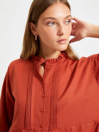 Сукня Trendyol модель TWOAW22EL0131/Kiremit — фото 5 - INTERTOP