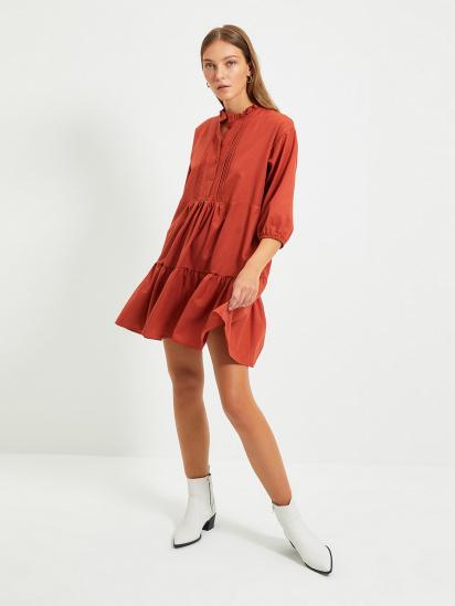 Сукня Trendyol модель TWOAW22EL0131/Kiremit — фото - INTERTOP