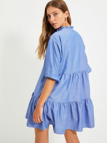 Сукня Trendyol модель TWOAW22EL0131/Mavi — фото 2 - INTERTOP