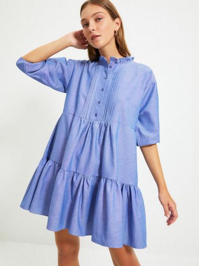 Сукня Trendyol модель TWOAW22EL0131/Mavi — фото 3 - INTERTOP