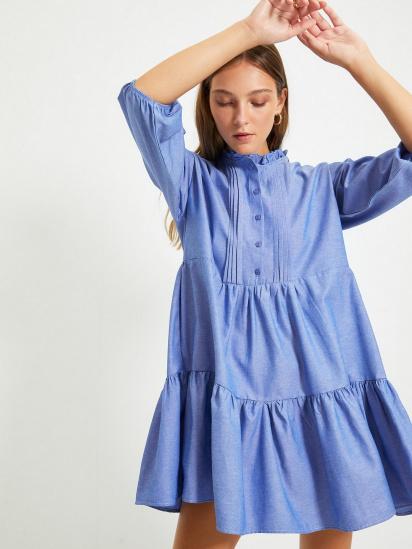 Сукня Trendyol модель TWOAW22EL0131/Mavi — фото 4 - INTERTOP