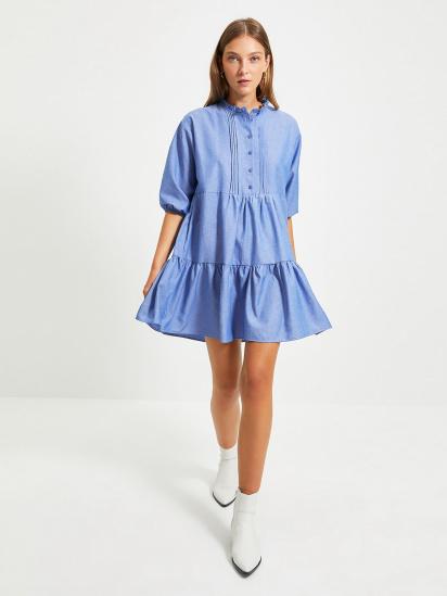 Сукня Trendyol модель TWOAW22EL0131/Mavi — фото - INTERTOP