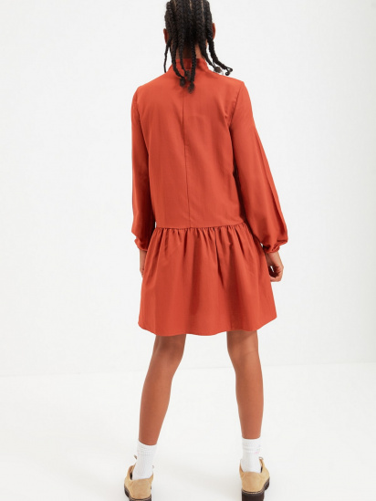 Сукня Trendyol модель TWOAW22EL0180/Kiremit — фото 2 - INTERTOP