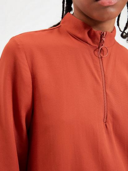 Сукня Trendyol модель TWOAW22EL0180/Kiremit — фото 5 - INTERTOP