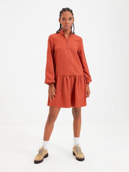 Сукня Trendyol модель TWOAW22EL0180/Kiremit — фото - INTERTOP