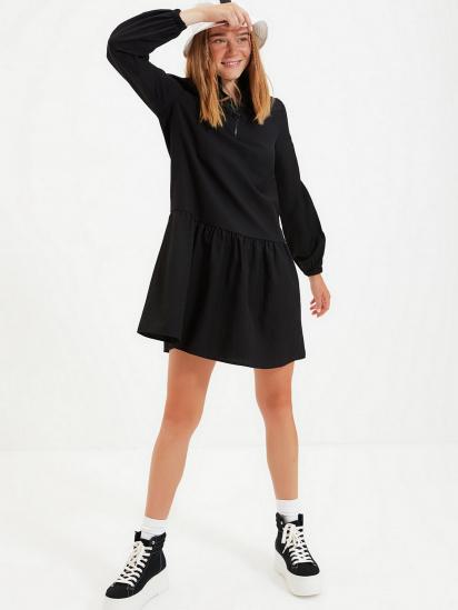 Сукня Trendyol модель TWOAW22EL0180/Siyah — фото 3 - INTERTOP
