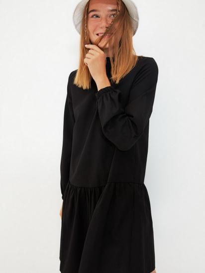 Сукня Trendyol модель TWOAW22EL0180/Siyah — фото 4 - INTERTOP