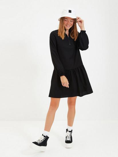 Сукня Trendyol модель TWOAW22EL0180/Siyah — фото - INTERTOP