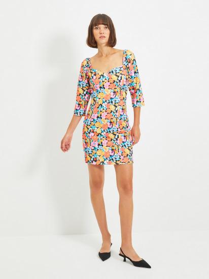 Сукня Trendyol модель TWOAW22EL0231/Cok Renkli — фото - INTERTOP