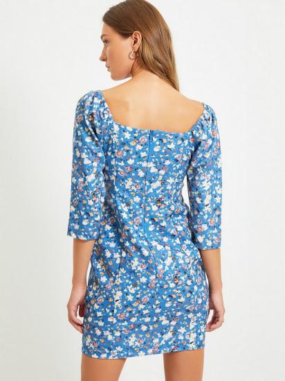 Сукня Trendyol модель TWOAW22EL0231/Lacivert — фото 2 - INTERTOP