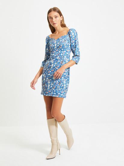 Сукня Trendyol модель TWOAW22EL0231/Lacivert — фото - INTERTOP