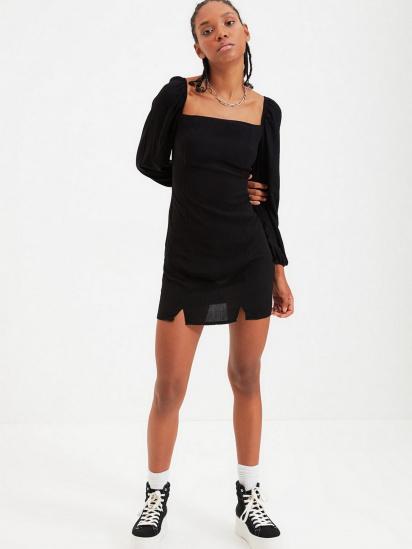 Сукня Trendyol модель TWOAW22EL0260/Siyah — фото 3 - INTERTOP