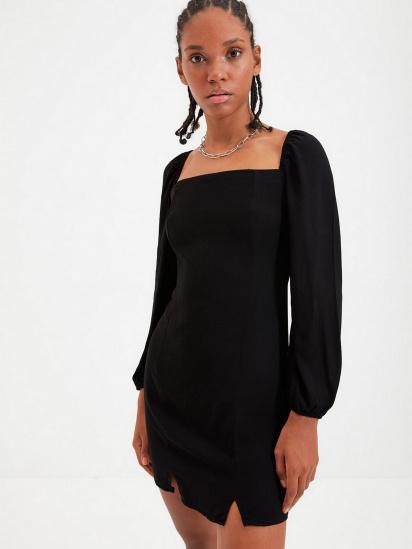 Сукня Trendyol модель TWOAW22EL0260/Siyah — фото 4 - INTERTOP