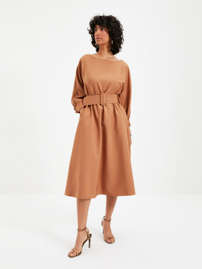 Сукня Trendyol модель TWOAW22EL0318/Camel — фото - INTERTOP