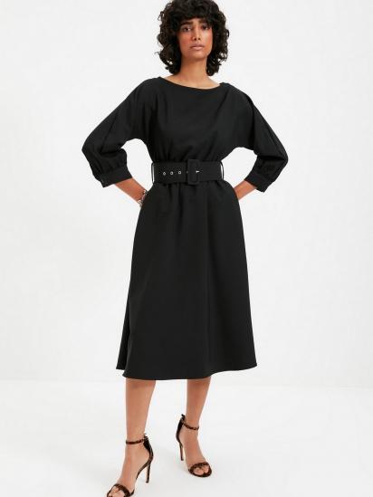 Сукня Trendyol модель TWOAW22EL0318/Siyah — фото 3 - INTERTOP
