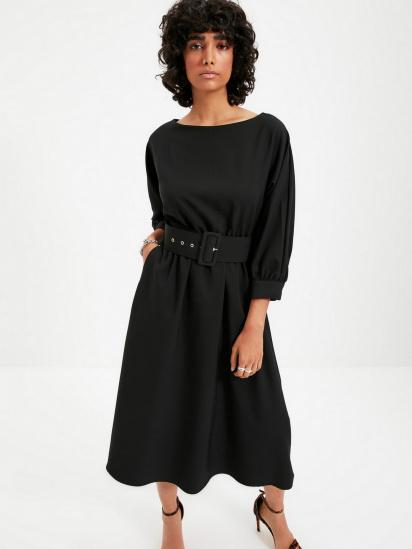 Сукня Trendyol модель TWOAW22EL0318/Siyah — фото 4 - INTERTOP