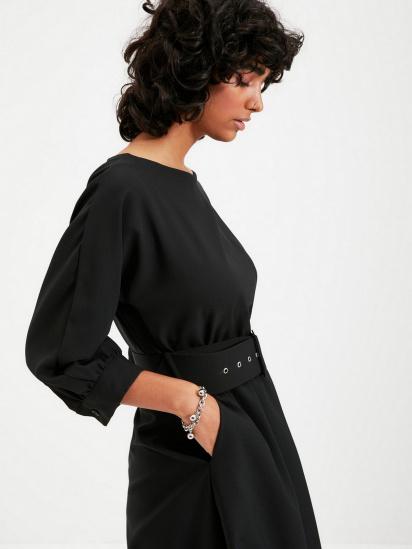 Сукня Trendyol модель TWOAW22EL0318/Siyah — фото 5 - INTERTOP
