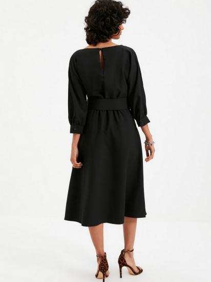 Сукня Trendyol модель TWOAW22EL0318/Siyah — фото 6 - INTERTOP