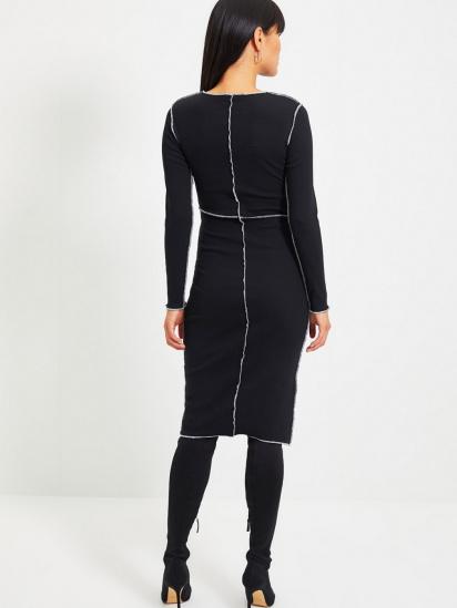 Сукня Trendyol модель TWOAW22EL0337/Siyah — фото 2 - INTERTOP