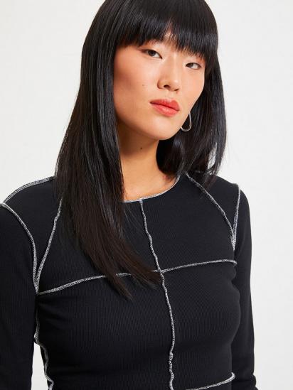 Сукня Trendyol модель TWOAW22EL0337/Siyah — фото 3 - INTERTOP