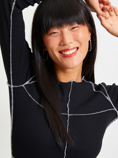 Сукня Trendyol модель TWOAW22EL0337/Siyah — фото 4 - INTERTOP
