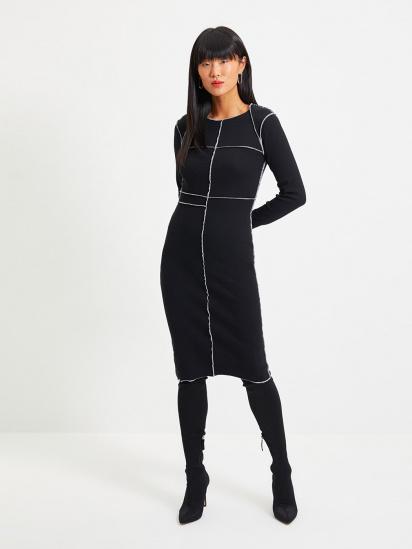 Сукня Trendyol модель TWOAW22EL0337/Siyah — фото - INTERTOP