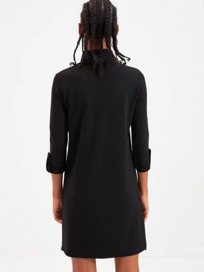 Сукня Trendyol модель TWOAW22EL0438/Siyah — фото 2 - INTERTOP