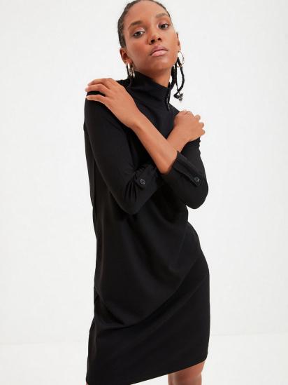 Сукня Trendyol модель TWOAW22EL0438/Siyah — фото 5 - INTERTOP