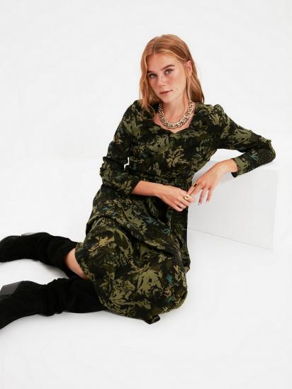 Сукня Trendyol модель TWOAW22EL0501/Siyah — фото 3 - INTERTOP