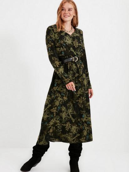 Сукня Trendyol модель TWOAW22EL0501/Siyah — фото 4 - INTERTOP