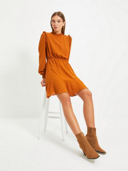 Сукня Trendyol модель TWOAW22EL0504/Camel — фото - INTERTOP