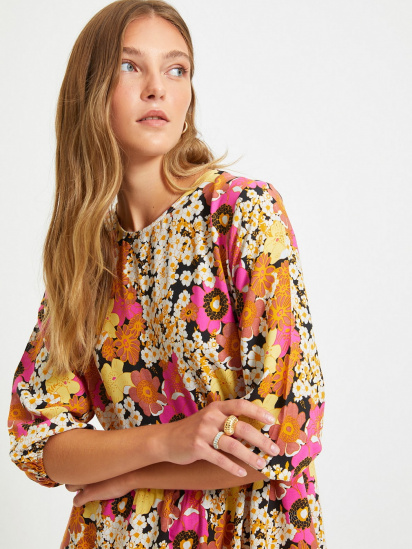 Сукня Trendyol модель TWOAW22EL0574/Cok Renkli — фото 5 - INTERTOP